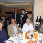 Carmen Stappen und Max Heinrichs begrüßen die Gäste