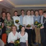 Das Team mit Carmen Stappen und Max Heinrichs