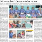 Operationskampagne in Eseka: 50 Menschen können wieder sehen