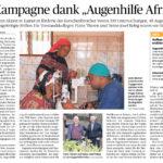 OP-Kampagne dank Augenhilfe Afrika
